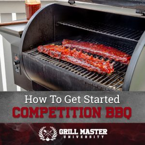 Competition barbecue
