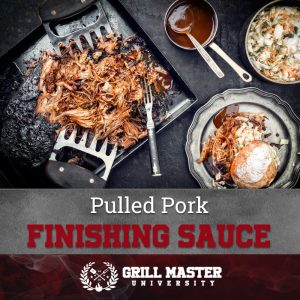 Pulled pork finishing sauce