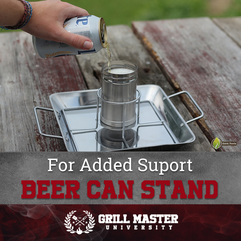Beer can stand