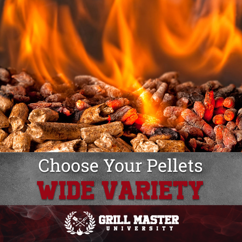How to choose wood pellets for a grill