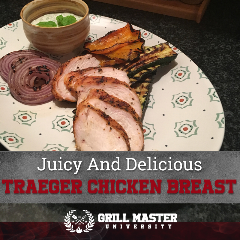 Traeger chicken breast