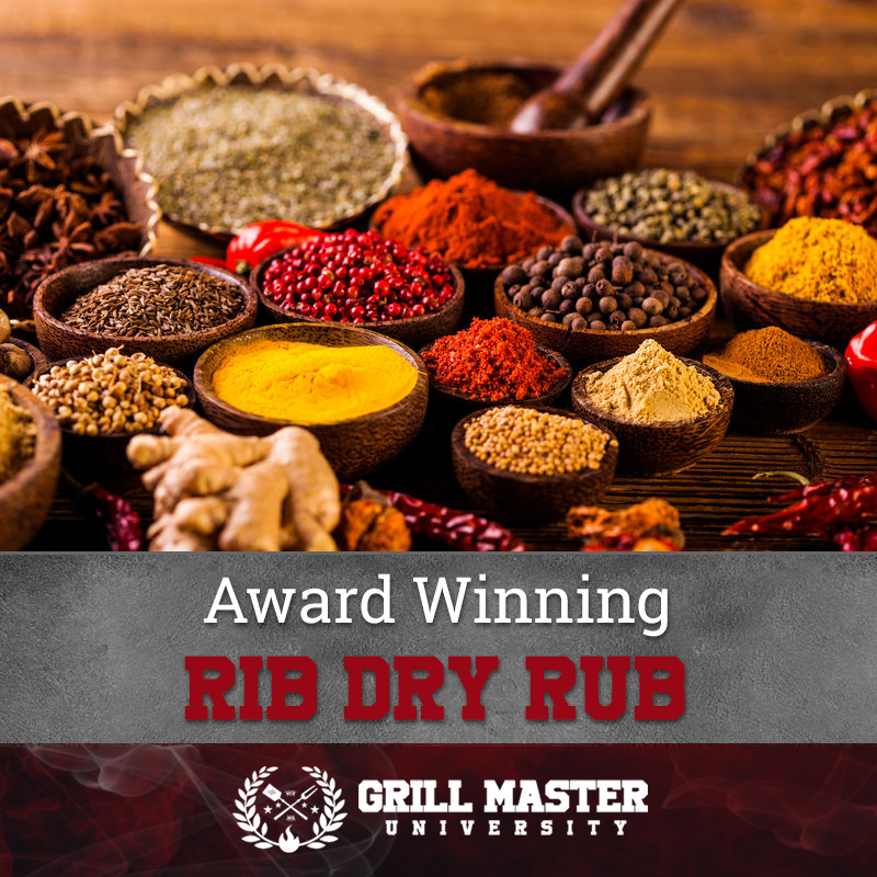 Award winning rib rub recipe