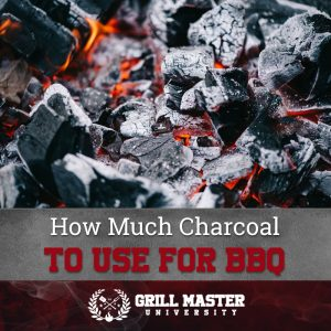 How much charcoal to use for BBQ
