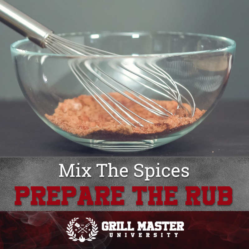 Mix the spices