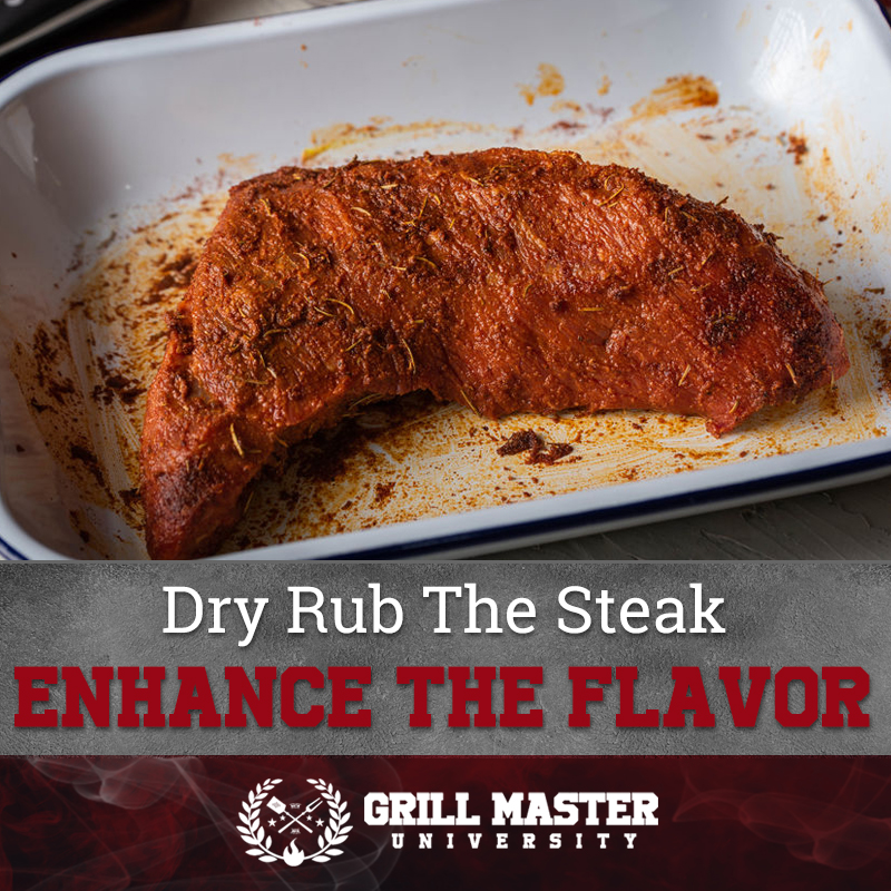 Dry rub for the steak