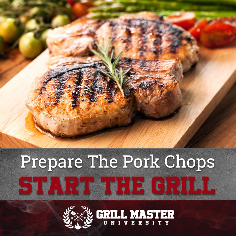 Start the grill