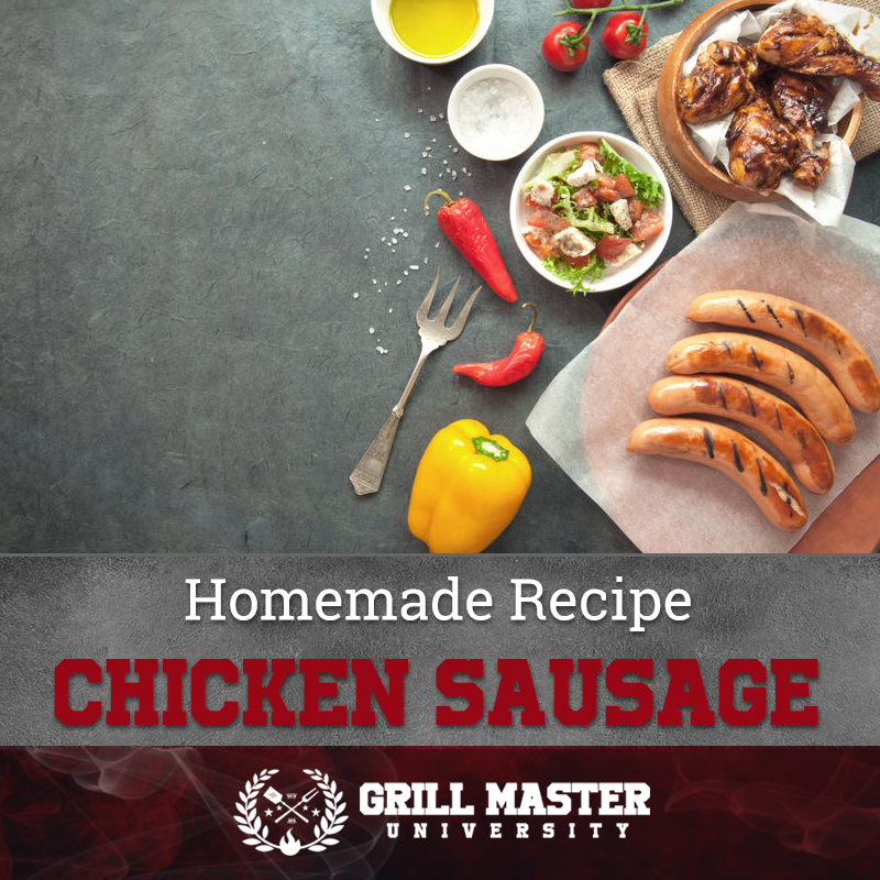 Homemade Recipe Chicken Sausage