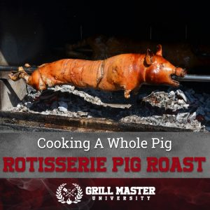 Cooking a Whole Pig Rotisserie Pig Roast
