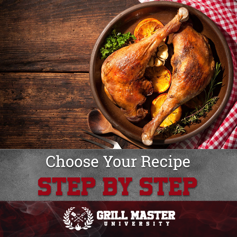 Choose Your Recipe Step By Step