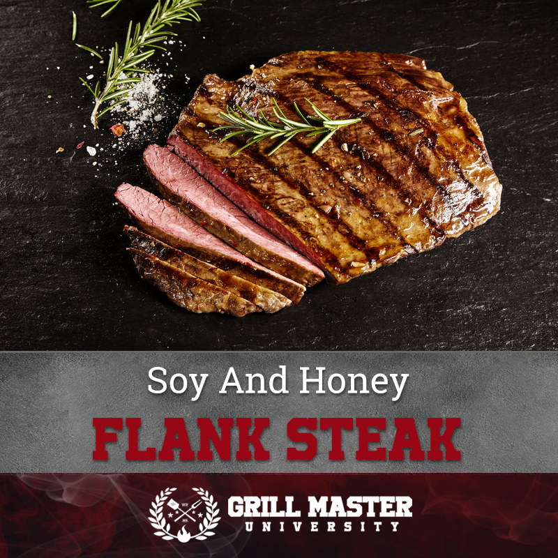 Soy And Honey Flank Steak