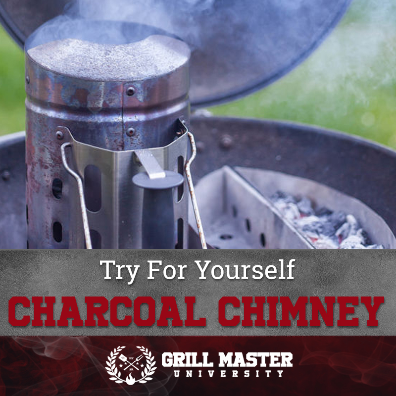 Try a charcoal chimney