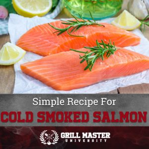 Simple Recipe For Cold Smoked Salmon