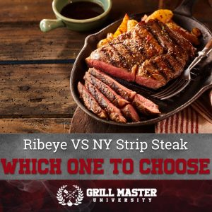 Ribeye vs New York Strip steak
