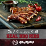 Ribs on a Charcoal Grill Recipe