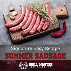 Summer Sausage recipe